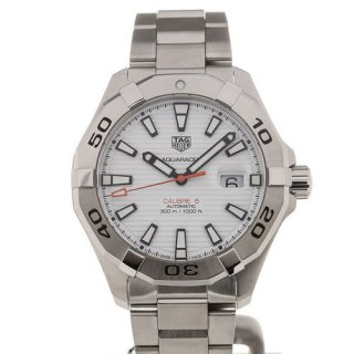 TAG Heuer Aquaracer 43 Date White Dial