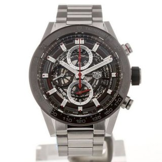 TAG Heuer Carrera 43 Automatic Chronograph Heuer01