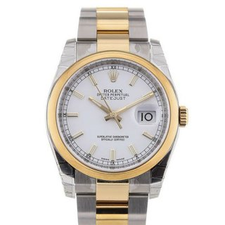 Rolex Datejust 36 Automatic Date White Dial