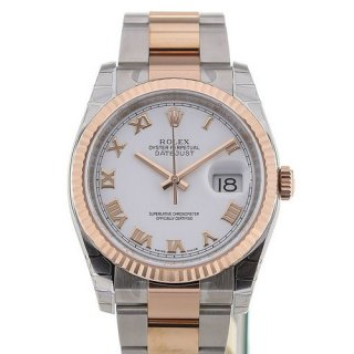 Rolex Datejust 36 Date White Dial
