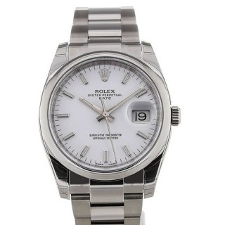 Rolex Oyster Perpetual 34 Automatic White Dial