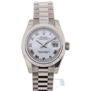 Rolex Lady Datejust 26 White Dial