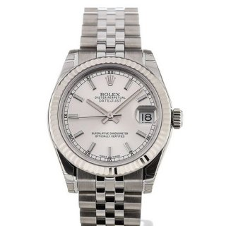 Rolex Oyster Perpetual Datejust 31 Automatic Silver Dial