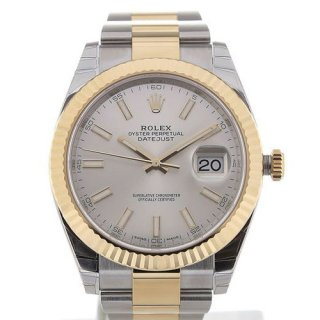 Rolex Datejust 41 Automatic Silver Dial