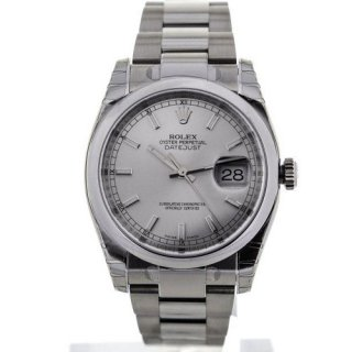 Rolex Oyster Perpetual Datejust Silver