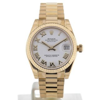 Rolex Datejust President 31 Date Yellow Gold