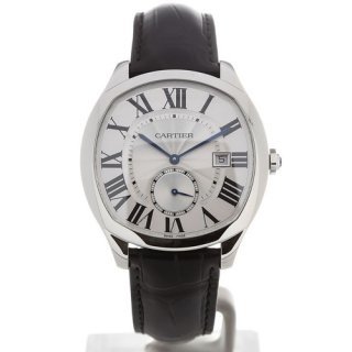Cartier Drive 40 Automatic Black Leather