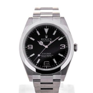 Rolex Oyster Perpetual Explorer 39 Steel