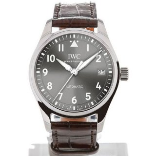 IWC Pilot 36 Date Brown Leather