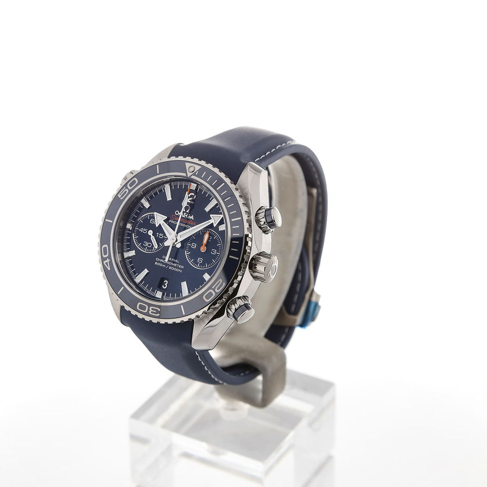 Omega Seamaster Planet Ocean 46 Chronograph Blue Strap
