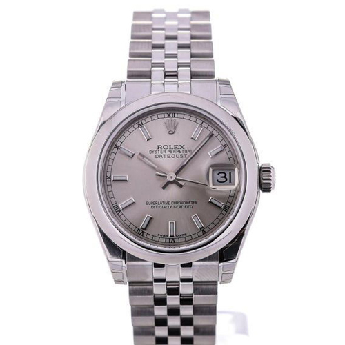 Rolex Oyster Perpetual Datejust Lady 31 Silver Dial Jubilé