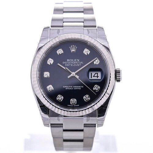 Rolex Oyster Perpetual Datejust 36 Diamonds