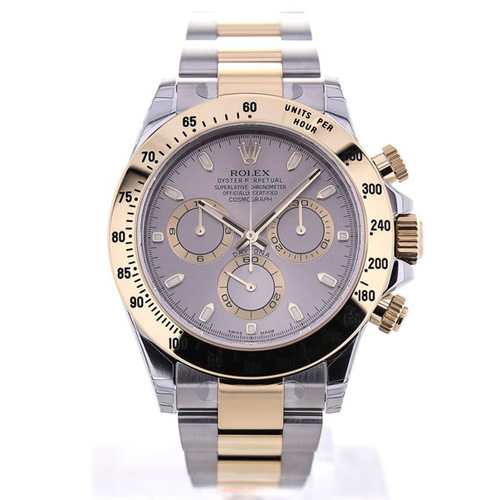 Rolex Oyster Perpetual Daytona Cosmograph Rolesor Silver Dial